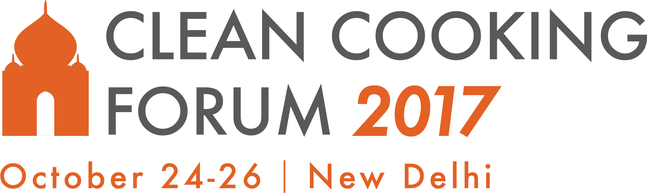 Clean Cooking Forum 2017 // October 24 - 26 // New Delhi, India